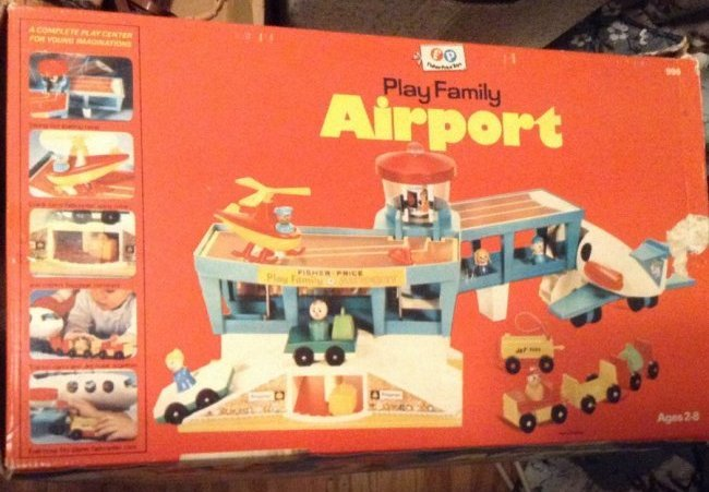 Fisher Price Family airport in the box