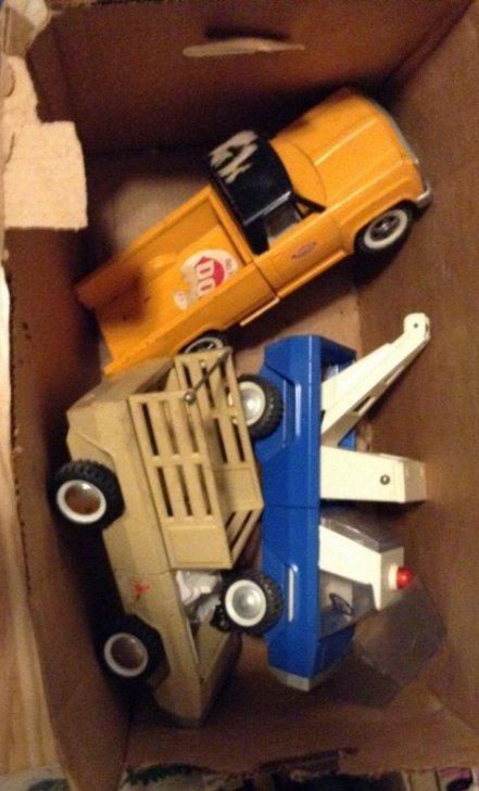 Tonka & Buddy L trucks