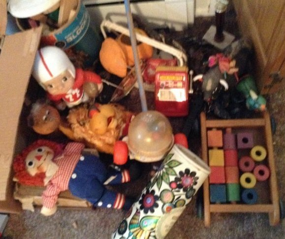 Large Lot of Vintage Toys