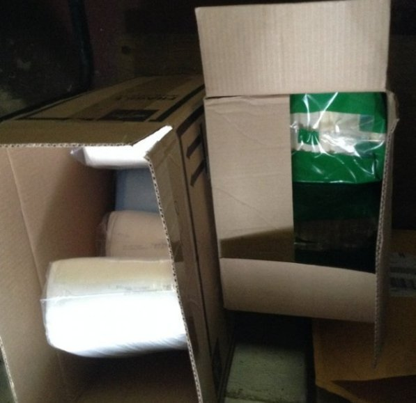 2 boxes of adult diapers