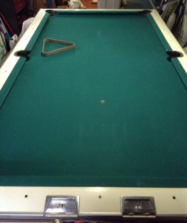 1950s Pool Table