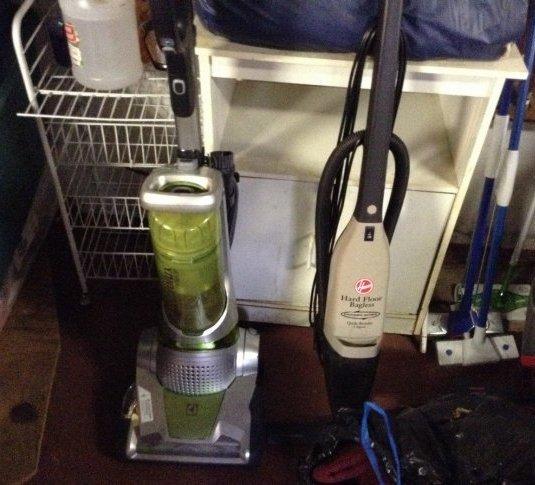 Electrolux vaccum & Hoover vacuum