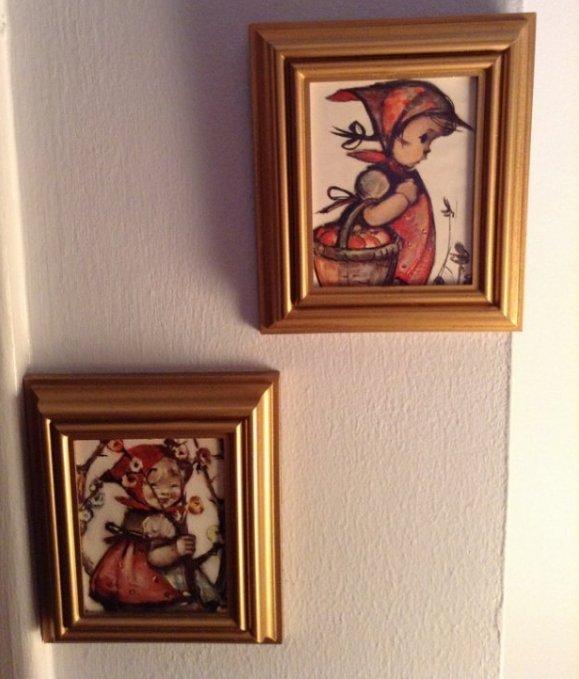 wall hangings upstairs - 2