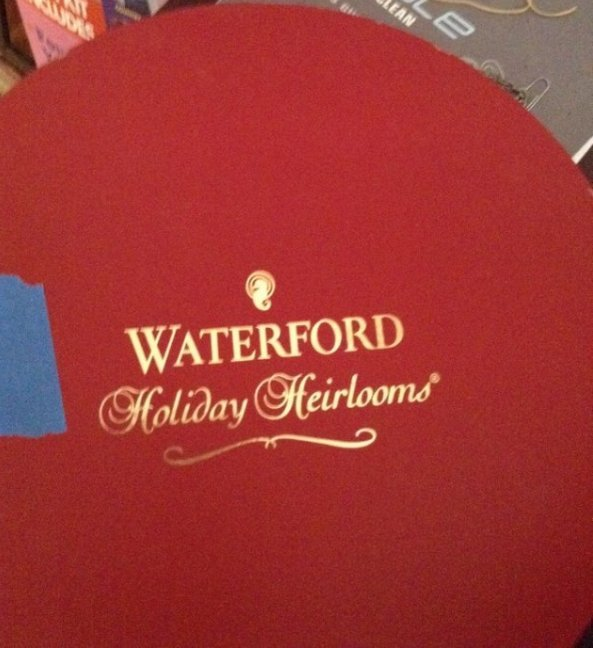 Waterford Holiday Heirlooms Tea set - 2