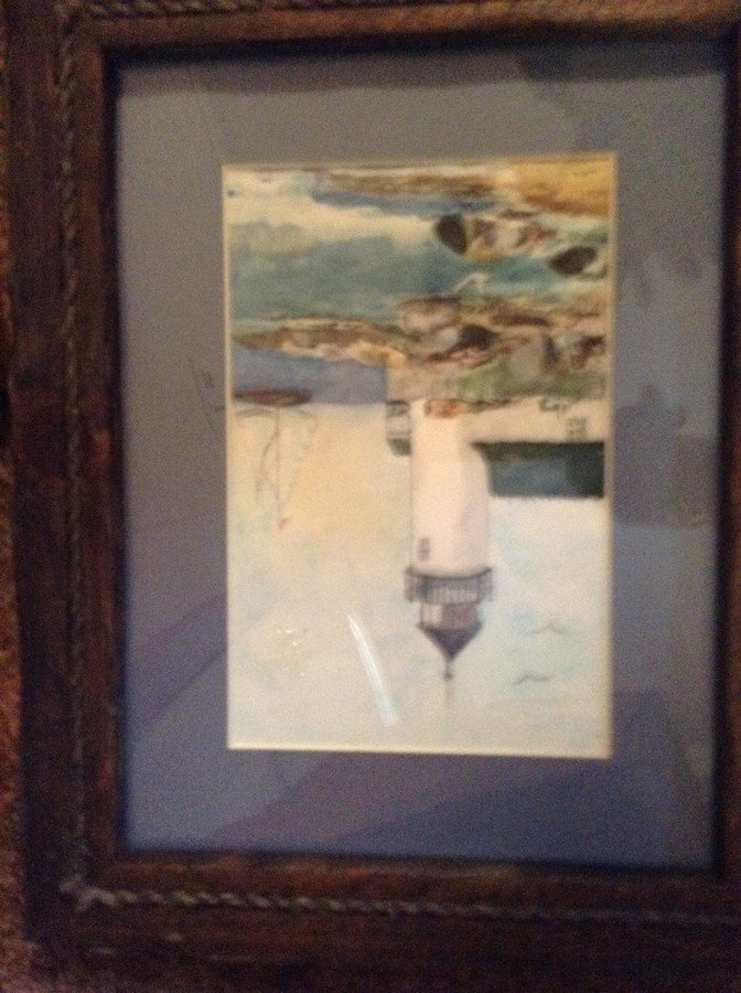 large lot of framed oil on boards, water colors - 3