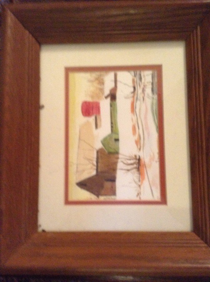 large lot of framed oil on boards, water colors - 4