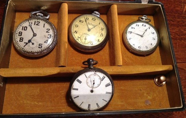 4 pocket watches