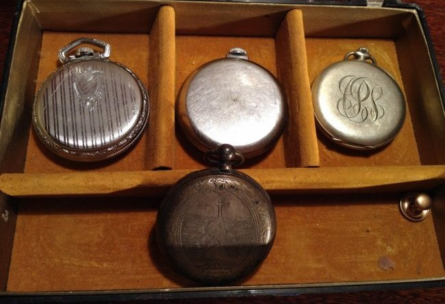 4 pocket watches - 2