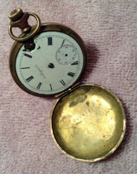 14kt Gold pocket watch