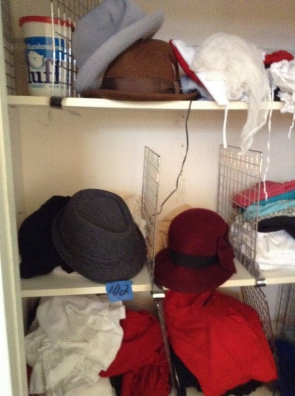 Complete contents of closet - 8