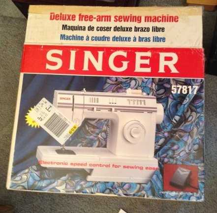 New Singer Sewing Machine In Box Best Singer Sewing Machine 57817c