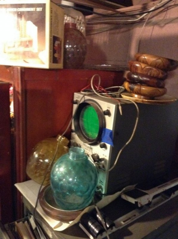vintage radio items, globes and more