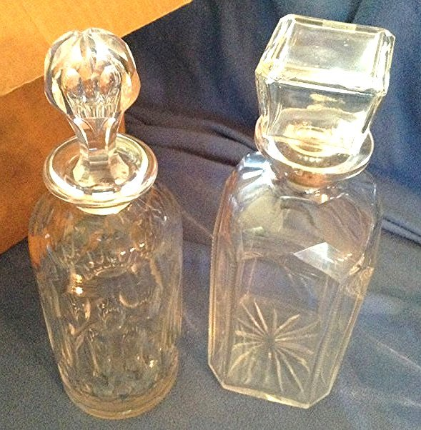 2 Early Decanters