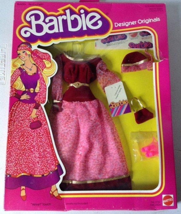 Barbie New Clothes in package Designer Original