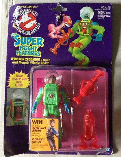 Ghost Buster Winston Zeddmore Meenie Weenie Ghost