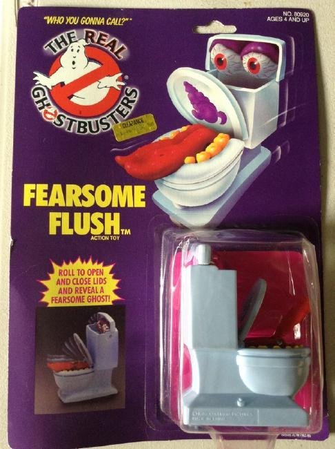 Ghost Buster Fearsome Flush