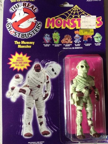 Ghost Buster Mummy Monster