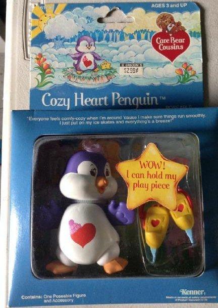Kenner 1984 Care Bears Cozy Heart Penquin