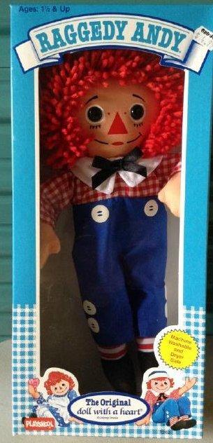 Raggedy Andy Playskool Doll 1989