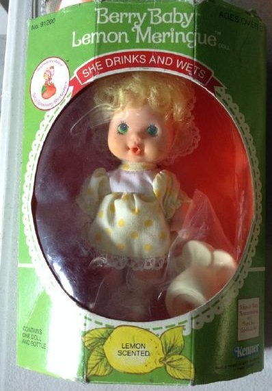 Kenner Berry Baby 1980's Lemon Meringue