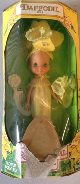 Kenner Rose Petal Place Doll 1984 Daffodil