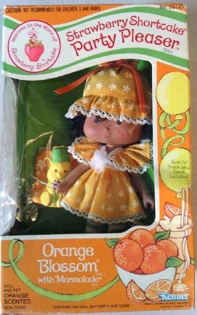 Strawberry Shortcake Kenner 1980 Orange Blossom