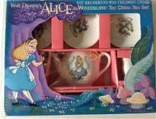 Disney Alice in Wonderland Tea Set Ceramic