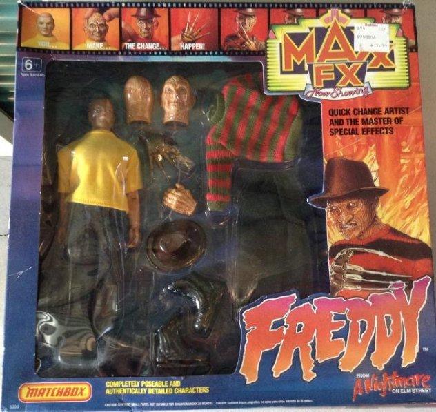 Matchbox Freddy Nightmare Figures