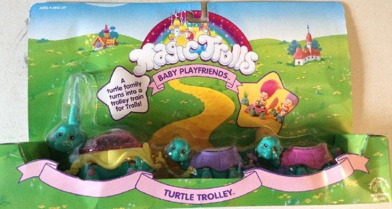 Magic Trolls Turtle Trolley