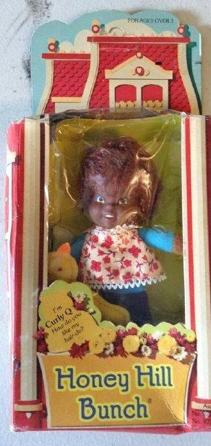 Mattel Honey Hill Bunch Curly Q 1976