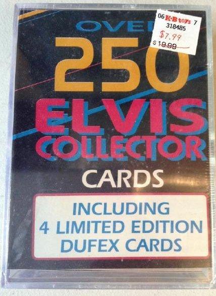 Sealed Elvis Trading cards