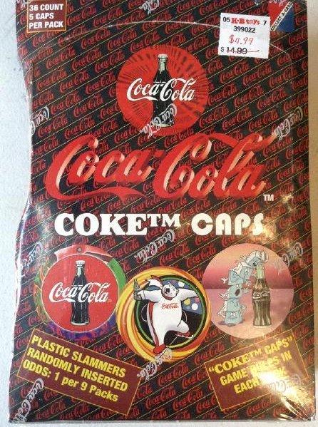 Coke Cola Caps 1995 game NIB