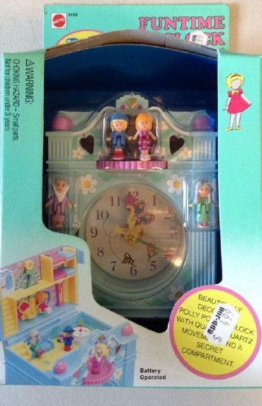 Polly Pockel Funtime Clock