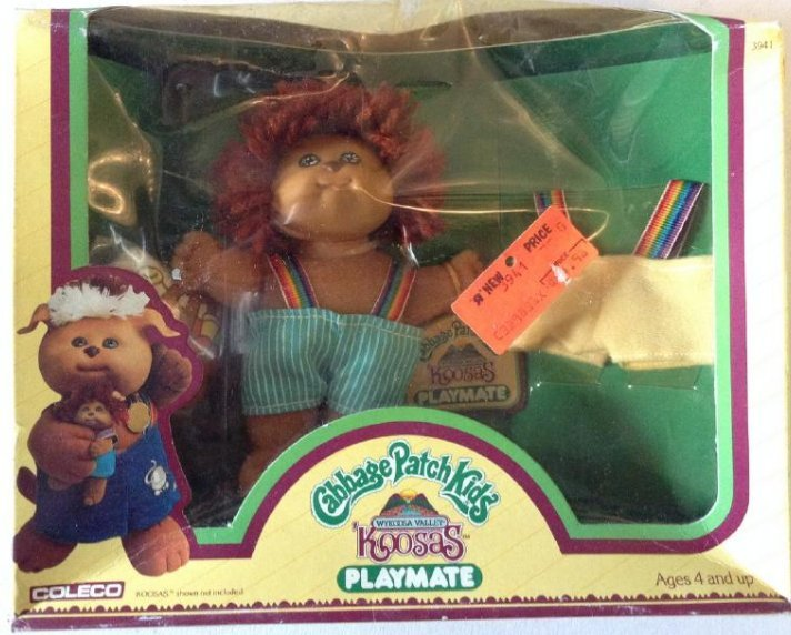 1984 Coleco Cabbage Patch Kids Koosas Playmate