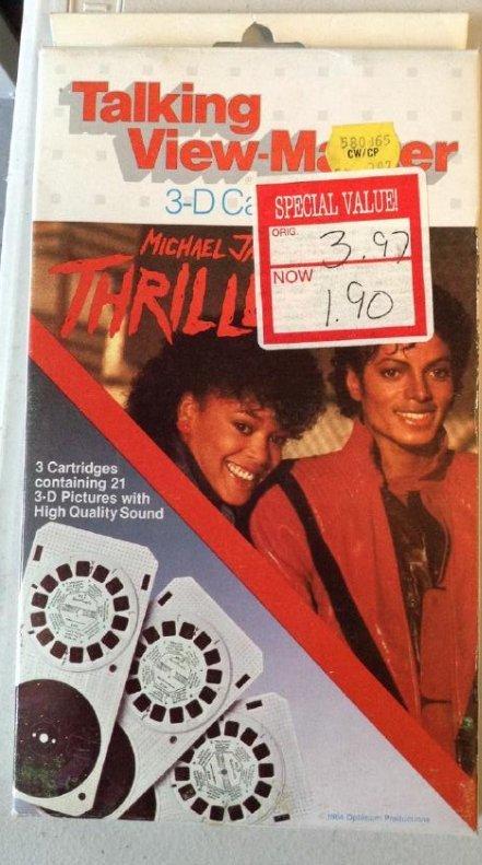 Michael Jackson View Master Thriller
