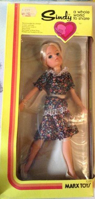 Marx Toys Sindy Doll NIB
