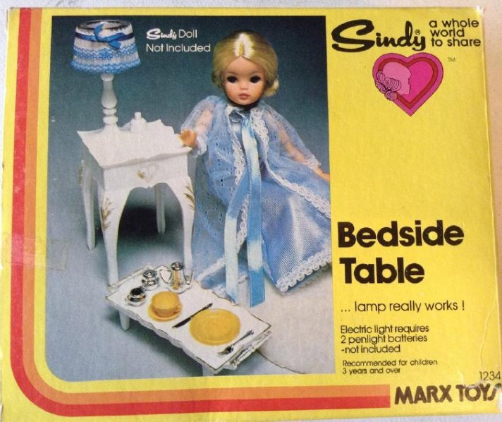 Marx Toys Bedside Table