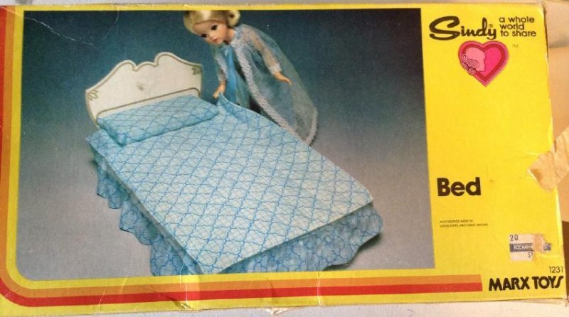Marx Toys Sindy Bed
