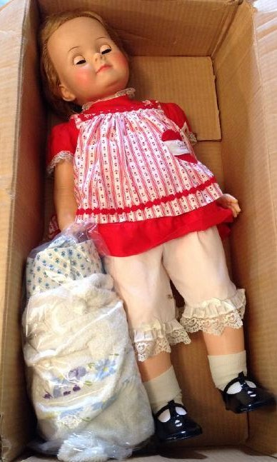 Ideal Saucy Walker Doll Complete in box