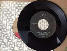 Beatles 45 record Please Please Me