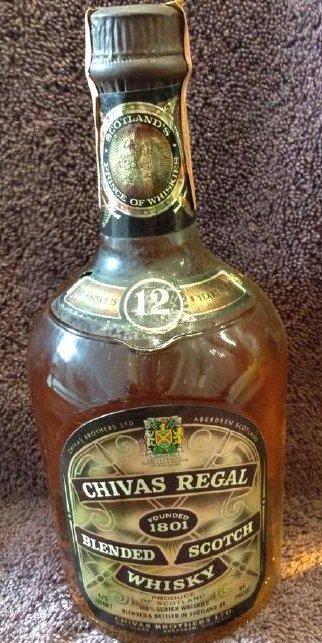 Chivas Regal- Blended Scotch Whisky 4/5 quart