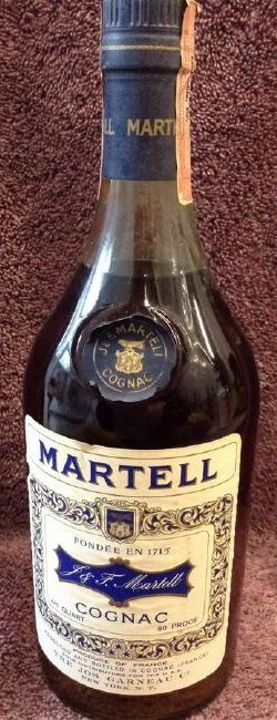 Martell Cognac 4/5 quart