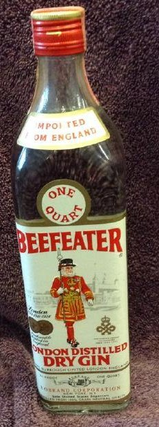 Beefeater London Distilled Dry Gin One Quart