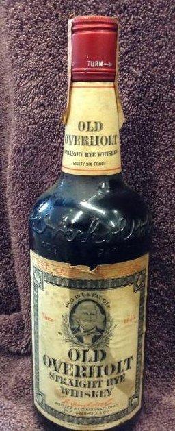 Old Overholt Straight Rue Whiskey 4/5 quart