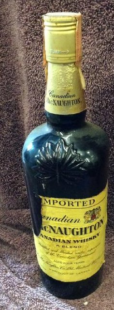 Canadain Mac Waughton Whiskey 4/5 quart