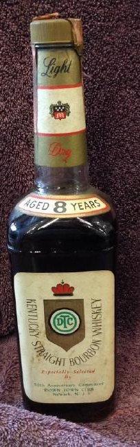 Kentucky Striaght Bourbon Whiskey Light Dry 4/5 quart