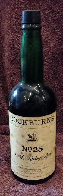 Cockburn's Dark Rubyport 25/32 quart