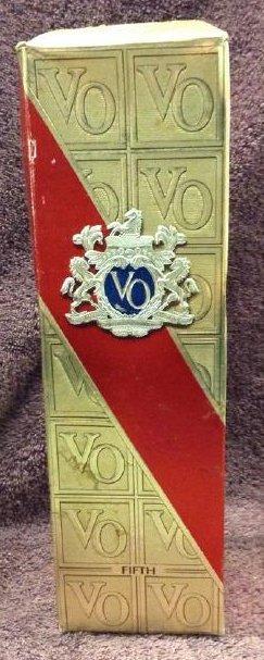 Seagram's VO 4/5 quart fifth