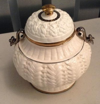Lenox lidded jar