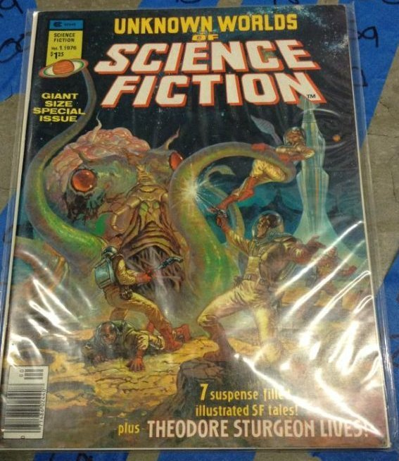 Curtis Unknown Worlds of Science fiction  plus Theodore